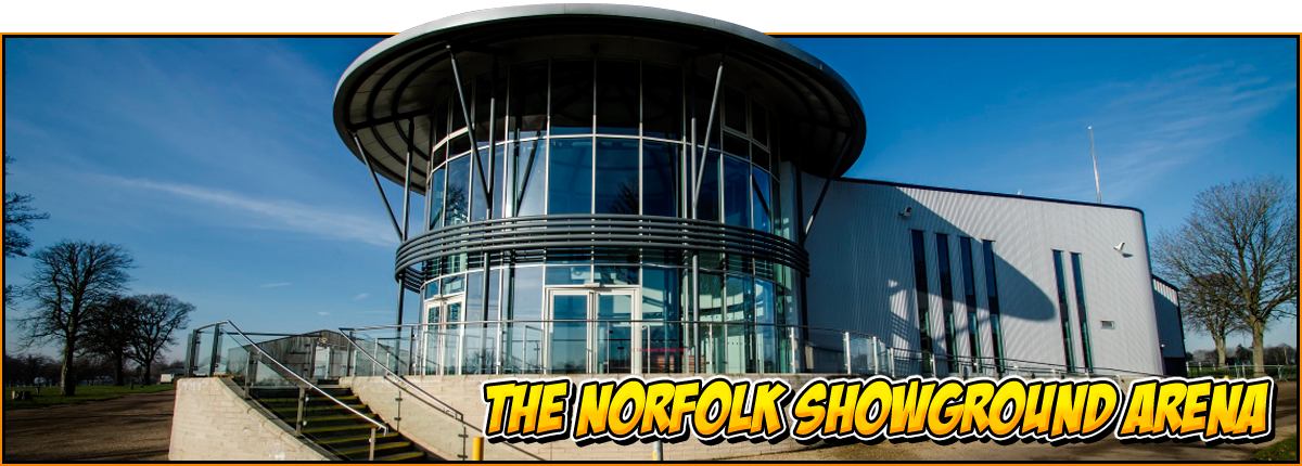 The Norfolk Showground arena | feature image for the NOR-CON 7 page