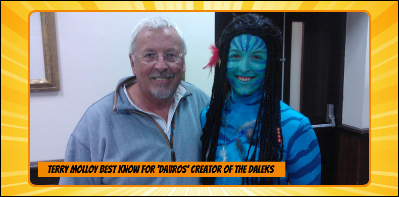 Previous guests at NOR-CON include Terry Molloy, best known as Davros, creator of the Daleks | NOR-CON Norfolk Film, TV & Comic Con