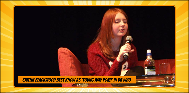 Previous guests at NOR-CON include Caitlin Blackwood, best known as young Amy Pond in 'Doctor Who' | NOR-CON Norfolk Film, TV & Comic Con