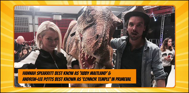 Previous guests at NOR-CON include Hannah Spearritt and Andrew Lee Potts, best known as Abby Maitland and Connor Temple in 'Primeval' | NOR-CON Norfolk Film, TV & Comic Con