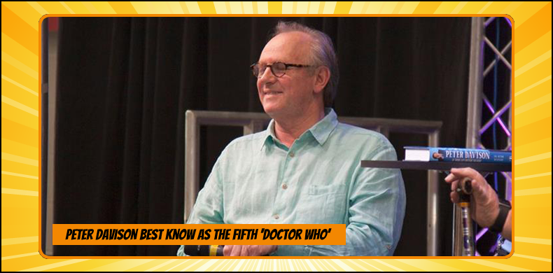 Previous guests at NOR-CON include Peter Davison, best known as the fifth 'Doctor Who' | NOR-CON Norfolk Film, TV & Comic Con