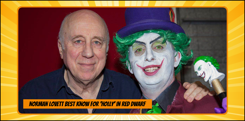 Previous guests at NOR-CON include Norman Lovett, best known as Holly in 'Red Dwarf' | NOR-CON Norfolk Film, TV & Comic Con