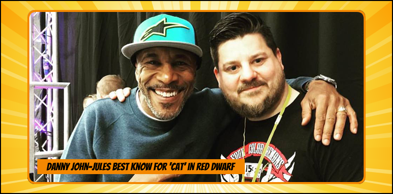 Previous guests at NOR-CON include Danny John-Jules, best known as Cat in 'Red Dwarf' | NOR-CON Norfolk Film, TV & Comic Con