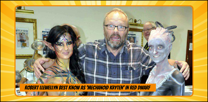 Previous guests at NOR-CON include Robert Llewellyn, best known as the Mechanoid Kryten in 'Red Dwarf' | NOR-CON Norfolk Film, TV & Comic Con