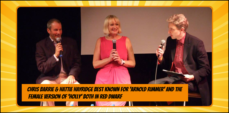 Previous guests at NOR-CON include Chris Barrie and Hattie Hayridge, best known as Arnold Rimmer and the female version of Holly in 'Red Dwarf' | NOR-CON Norfolk Film, TV & Comic Con