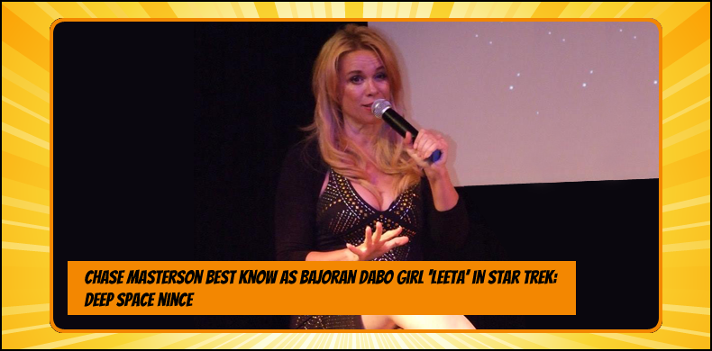 Previous guests at NOR-CON include Chase Masterson, best known as Bajoran Dabo girl Leeta in 'Star Trek: Deep Space Nine' | NOR-CON Norfolk Film, TV & Comic Con