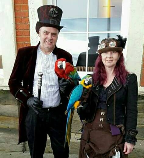 Steampunks at NOR-CON Oct 2017