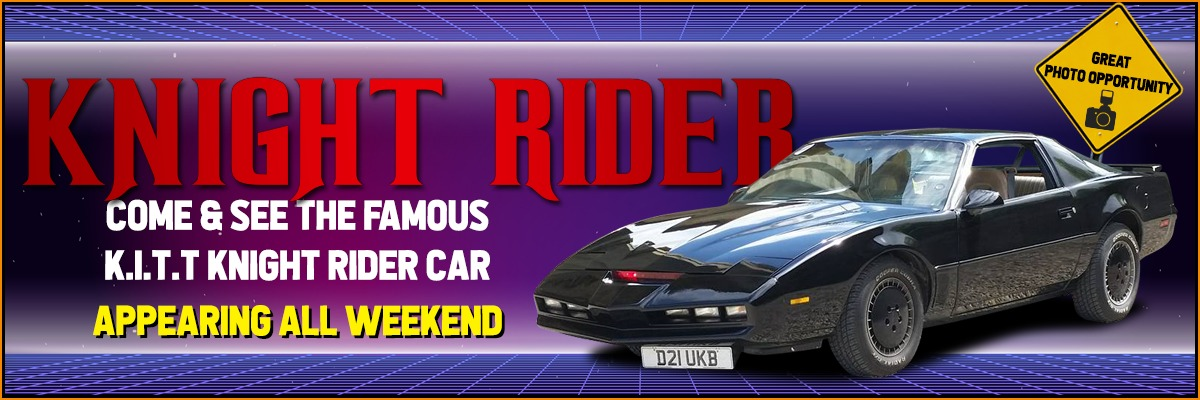 K.I.T.T. Knight Rider car is appearing all weekend at NOR-CON 9