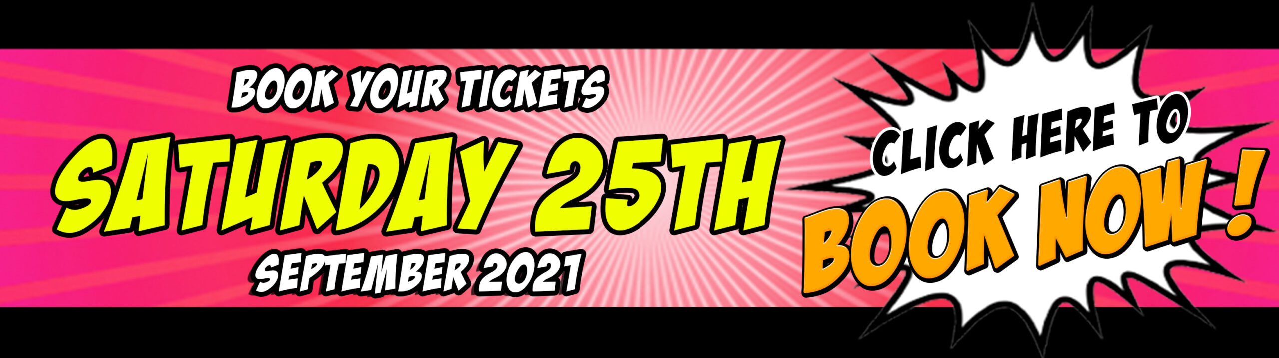 Buy your NORCON Saturday 25th September 2021 tickets