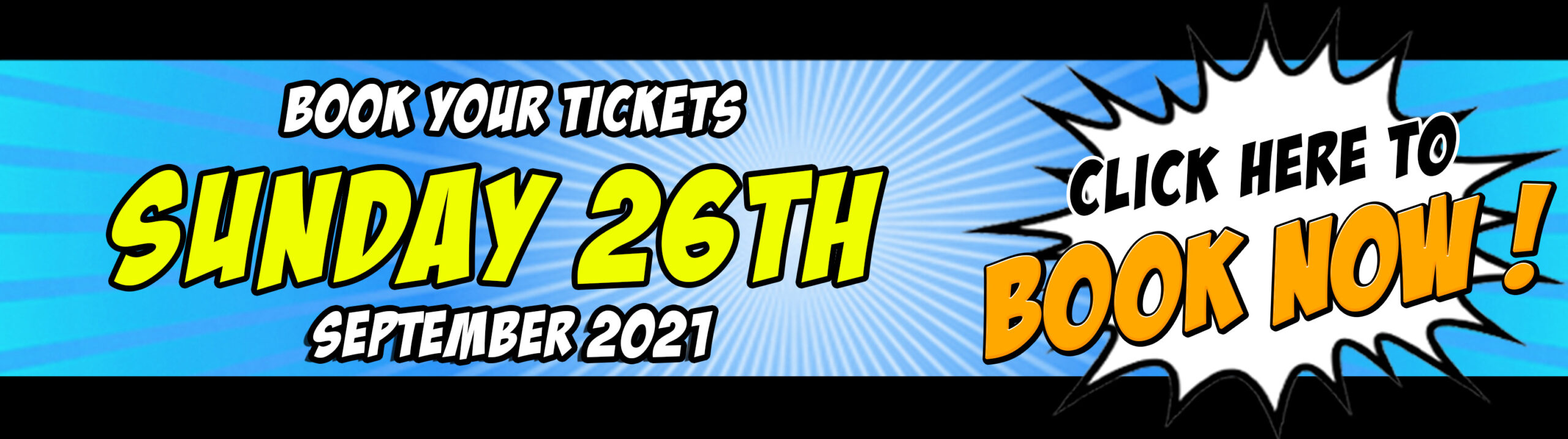 Buy your NORCON Sunday 26th September 2021 tickets